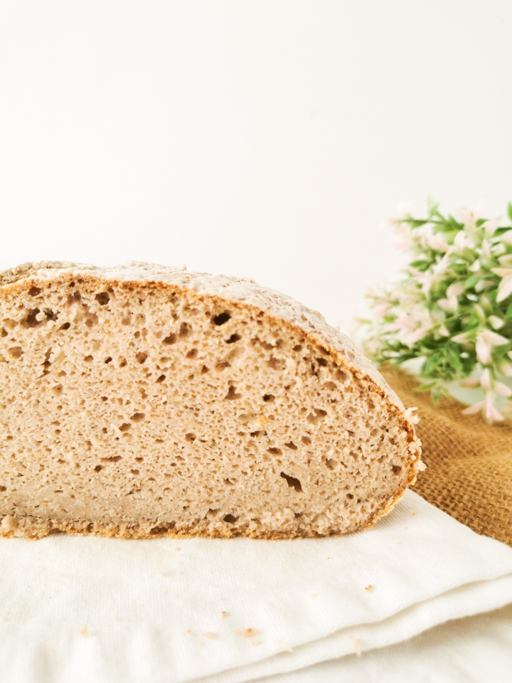 Receita de Pão Caseiro de Trigo Sarraceno sem glúten