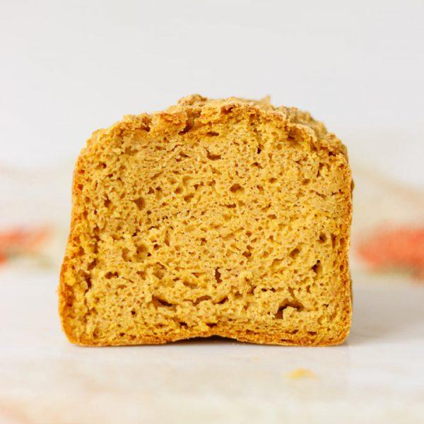 Receita de Pão de forma de Abóbora sem glúten