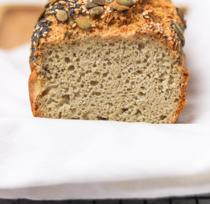 Receita de Pão de Forma de Sorgo sem glúten