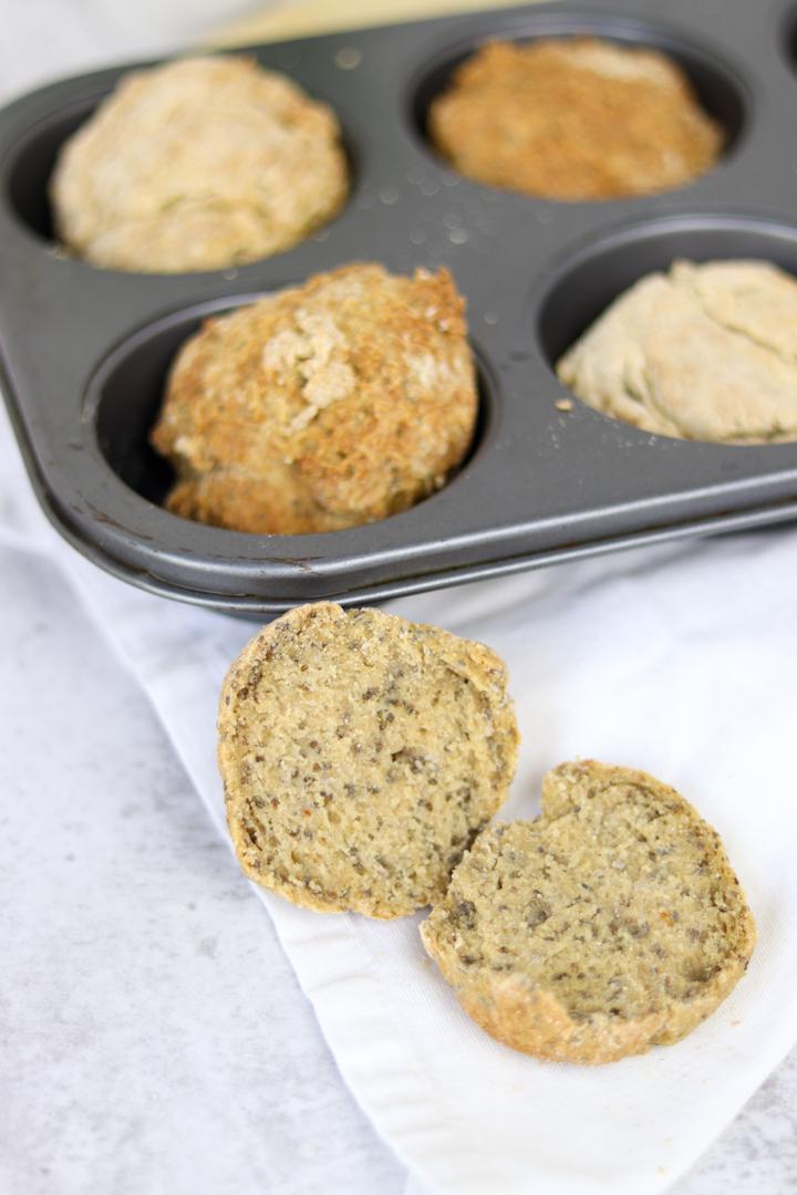 Receita de Bolinhas de Pão sem glúten e sem fermento