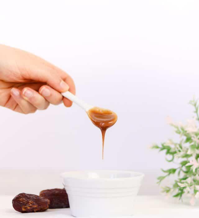 Receita de Caramelo de Tâmaras vegan, sem glúten